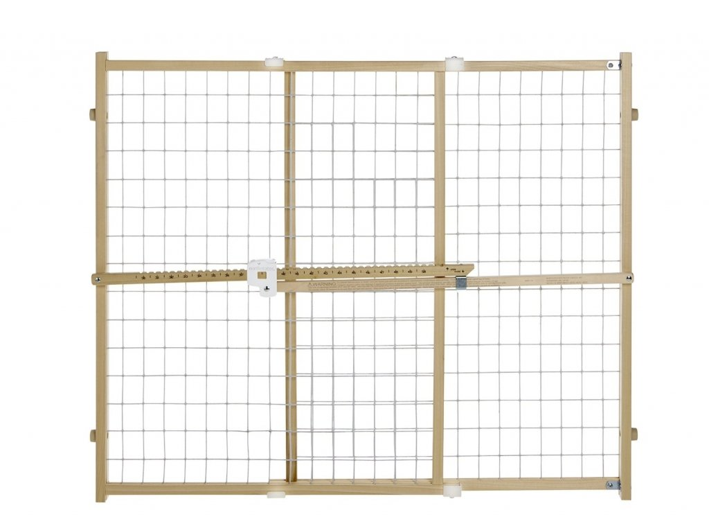 North States Industries Supergate Quick-Fit Wire Mesh Gate