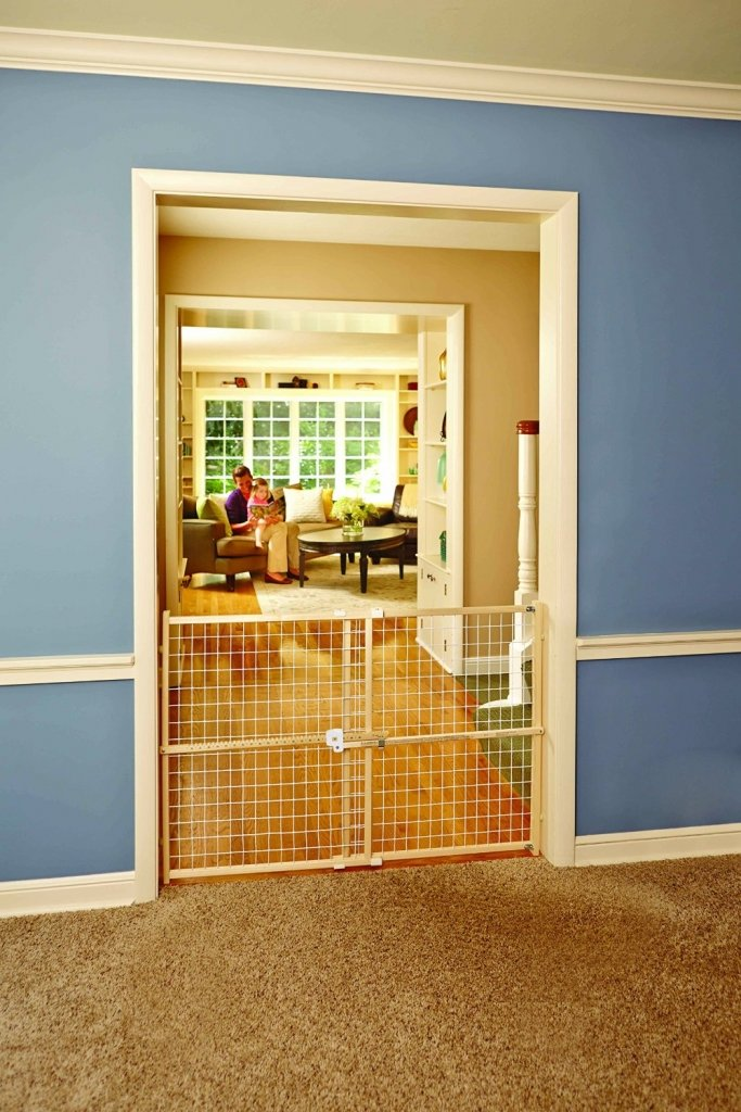 North States Industries Supergate Quick-Fit Wire Mesh Gate1