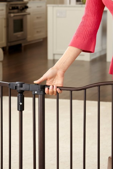 North States Supergate Deluxe Décor Metal Gate Review1