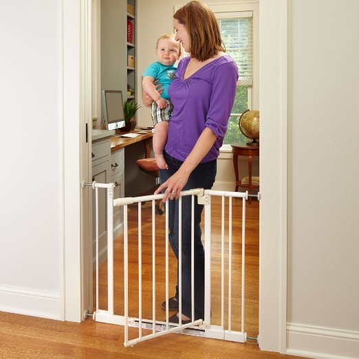 North States Supergate Easy Close Metal Gate1